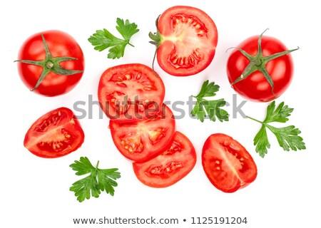 comida · vegetariana · rojo · de · uva · tomate · frescos · abundancia - foto stock © m-studio