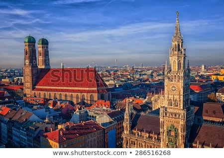 Церкви Lady Мюнхен Германия здании каменные Сток-фото © meinzahn