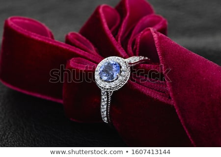 Ring with gemstones Stock photo © homydesign