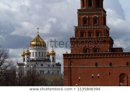 Cathedral of Christ the Saviour Stock photo © sailorr
