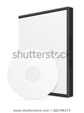 cd · durum · siyah · müzik · plastik · bo - stok fotoğraf © konturvid