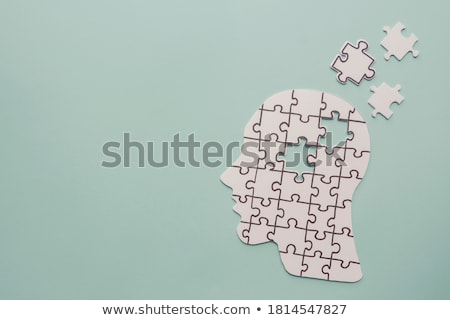 Health puzzle Stock photo © fuzzbones0