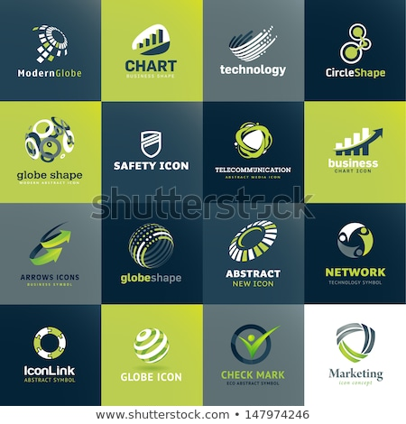 Secure Link Green Vector Icon Design Stock photo © rizwanali3d