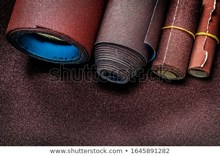glass with paper rolls stock photo © ssuaphoto