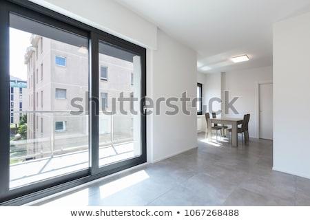 Moderne woonkamer meubels niemand binnenkant nieuwe Stockfoto © ruslanshramko
