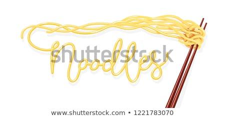 noodle utensil Stock photo © FOKA