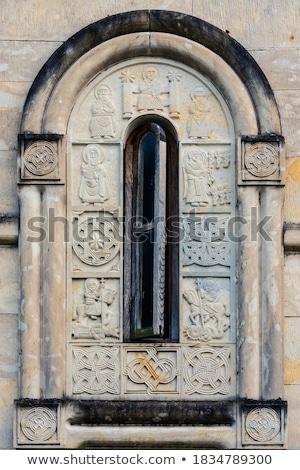 Kolostor Grúzia épület templom utazás imádkozik Stock fotó © borisb17