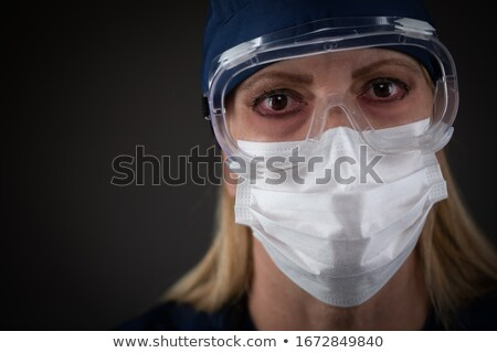 Homme médicaux travailleur engins Photo stock © feverpitch