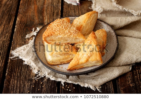 puff pastry with cheese Stock photo © M-studio