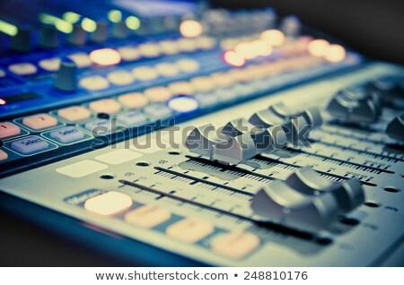 クローズアップ コンサート サウンド 制御 ボード 音楽 ストックフォト © DonLand