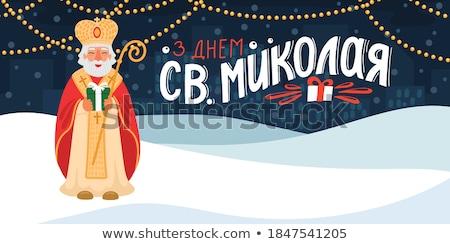 Güzel genç kadın sırf kahverengi elbise Stok fotoğraf © disorderly