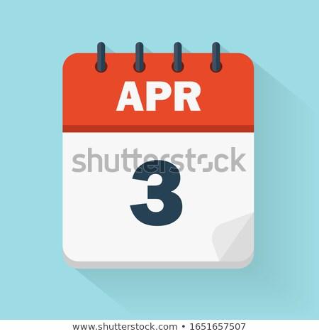 3rd April Stock photo © Oakozhan