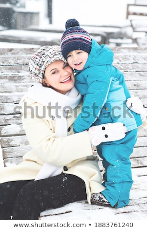 Boy in mother's arms Stock photo © IS2