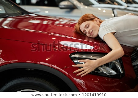 Smiling Woman Embracing Her Husband Stock photo © AndreyPopov