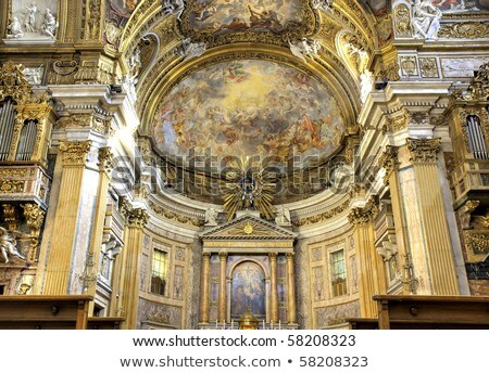 Church of the Gesu, Rome Stock photo © borisb17