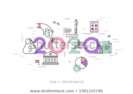 Budget Year 2020 Finance Concept Stock photo © ivelin