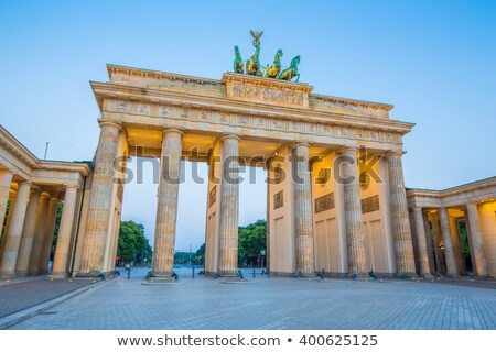 Old historic building at the Unter den Linden boulevard Stock photo © elxeneize