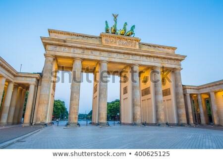 古い 歴史的 建物 ベルリン 1泊 ストックフォト © elxeneize