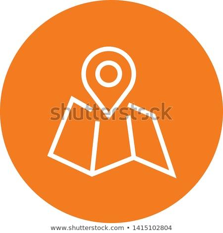 színes · turista · ikon · gyűjtemény · üzlet · nő · étel - stock fotó © place4design