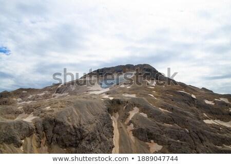 Dolomites plateau and Rosetta peak Stock photo © Antonio-S