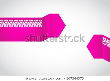 absztrakt · origami · szövegbuborék · különleges · terv · üzlet - stock fotó © place4design
