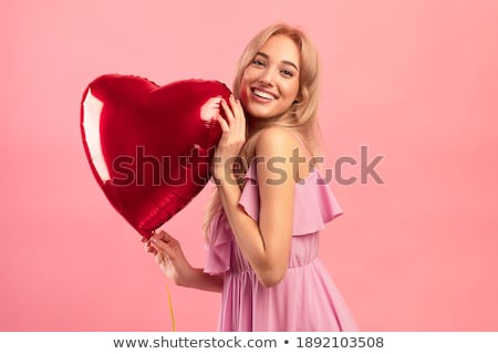 portrait of young blonde all smiles stock photo © photography33