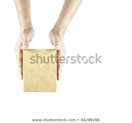 Pakket witte abstract vector kunst illustratie Stockfoto © robertosch