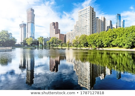 a city waterfront Stock photo © xedos45