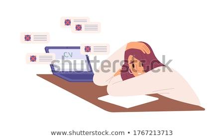 The jobseeker. Stock photo © lithian
