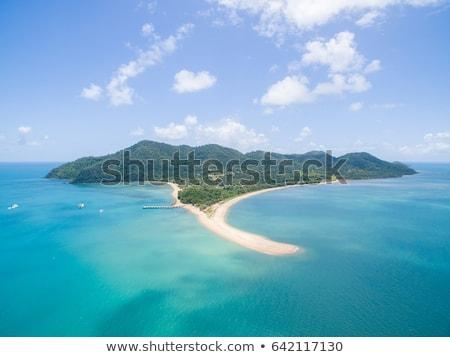 Küldetés tengerpart Ausztrália kép gyönyörű víz Stock fotó © magann