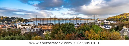 Escócia belo ver praia paisagem rua Foto stock © franky242