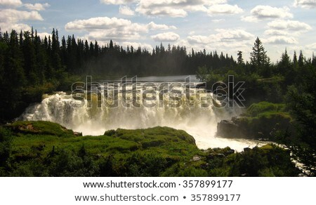 Pisew Falls in Northern Manitoba Stock photo © pictureguy