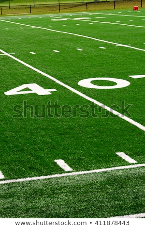 Football fourty yard marker Stock photo © njnightsky