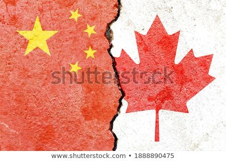 Cina Canada commercio sfidare cinese conflitto Foto d'archivio © Lightsource