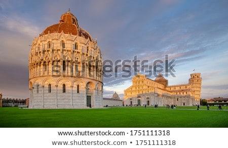 Kathedraal Italië middeleeuwse bouw gebouw Stockfoto © borisb17