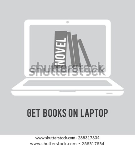 Stock photo: Tablet PC on white background with NEWS title