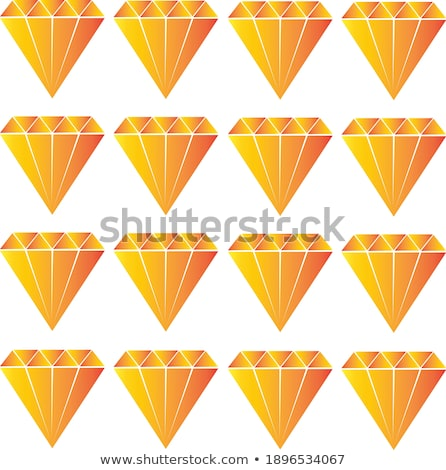 Royal Diamond love card, vector illustration Stock photo © carodi