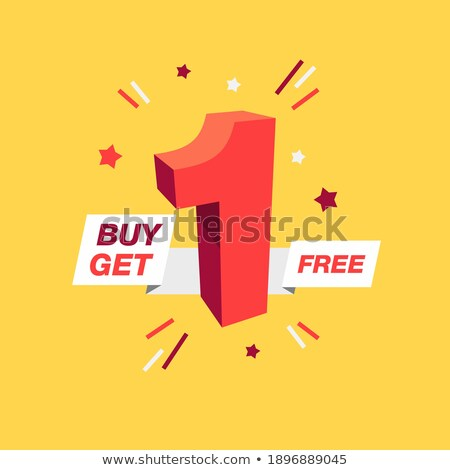 Get Your Deal Red Vector Icon Design Stock photo © rizwanali3d