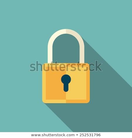 安全 ダイヤル錠 アイコン 孤立した 金属 ロック ストックフォト © konturvid