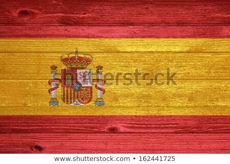Spanyolország · zászló · szimbólum · épület · tánc · terv - stock fotó © colematt