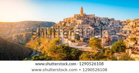 Mooie oude binnenstad zuidelijk Italië gebouw Stockfoto © elxeneize