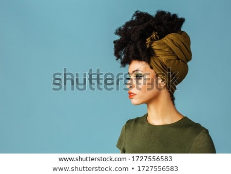 Woman styling hair Stock photo © photography33