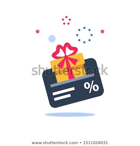 Discount card Stock photo © AGorohov