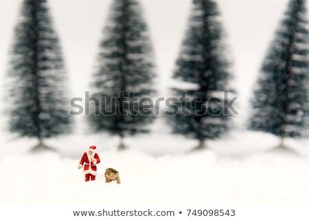 人工的な スノーフレーク 抽象的な 雪 デザイン 雪 ストックフォト © prill