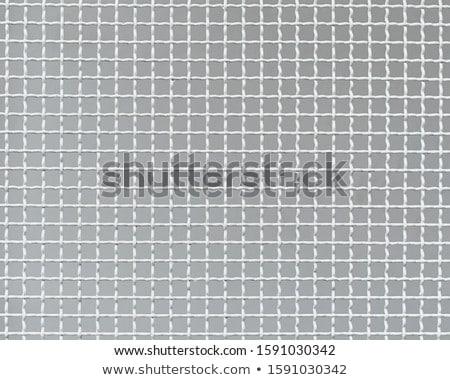 metallic net with white background Stock photo © shutswis