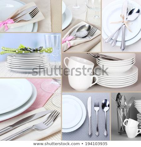 食器 画像 芸術 白 ストックフォト © cteconsulting