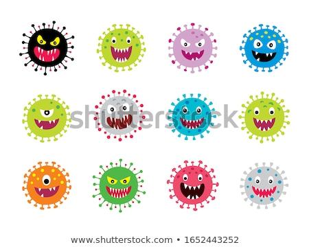 Virus character Stock photo © zzve