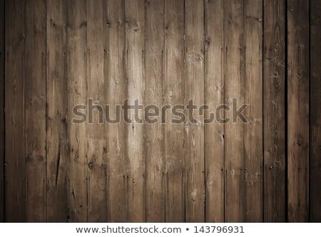 öreg sötét fából készült fal mintázott textúra Stock fotó © antonihalim
