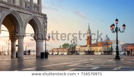 кафе · ночь · Верона · Италия · дома · стены - Сток-фото © joyr