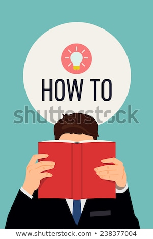 How To book. Personl guide book Stock photo © stevanovicigor